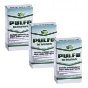 Inseticida Pulfo Antipulgas, Piolhos e Carrapatos combo com 3 unidades