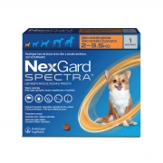 Nexgard  spectra 2 a 3,5 produto original comprimido carrapato pulga verme e sarna