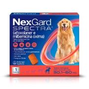 Nexgard  spectra 30 a 60 produto original comprimido carrapato pulga verme e sarna