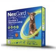 Nexgard  spectra  7,6 à 15 produto original comprimido carrapato pulga verme e sarna