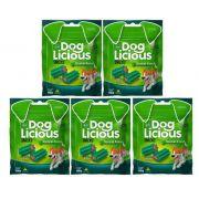 Petisco  Dog Licious Snacks! Dental Fresh com 5 unidades