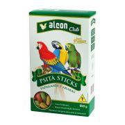 Ração Alcon Club Pássaros Psitacídeos Sticks Papagaio- 650 gramas