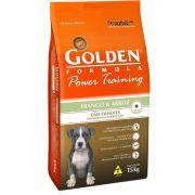 Ração Golden Power Training Cães Filhotes Frango Arroz 15kg