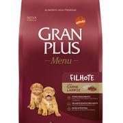 Ração Para Cachorro Filhote Gran Plus Carne E Arroz 15kg