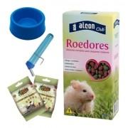 Ração para Roedores Alcon Club 500 gramas + biscoito + acessórios