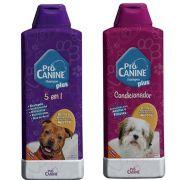 Shampoo pro canine 5 em 1 mais condicionador