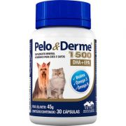 Suplemento Vetnil Pelo & Derme Dha + Epa 1500 Com 30 Unid