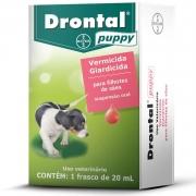 Vermífugo Drontal Puppy Suspensão 20ml Bayer Trata Giardia