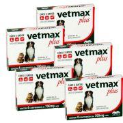 Vetmax comprimidos combo com 5 caixas