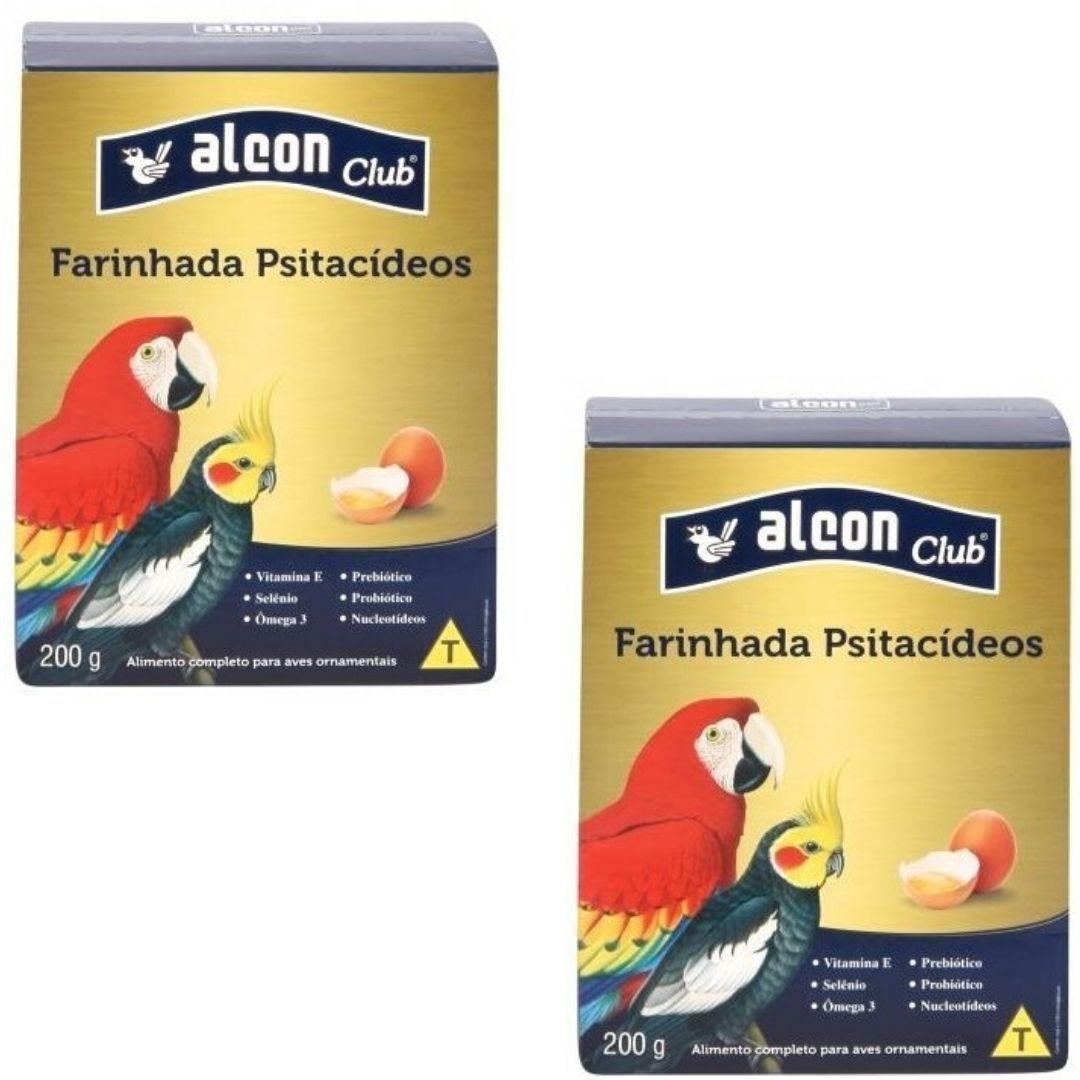 Alcon Club Farinhada Calopsita Psitacídeos 200 Grs - 2unid