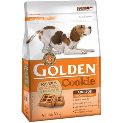 Biscoito Golden Cookie Para Cães Adultos Mini Bits