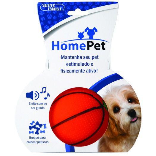 Bola Porta Ração Cachorro Gato Petisco C/ Som basquete