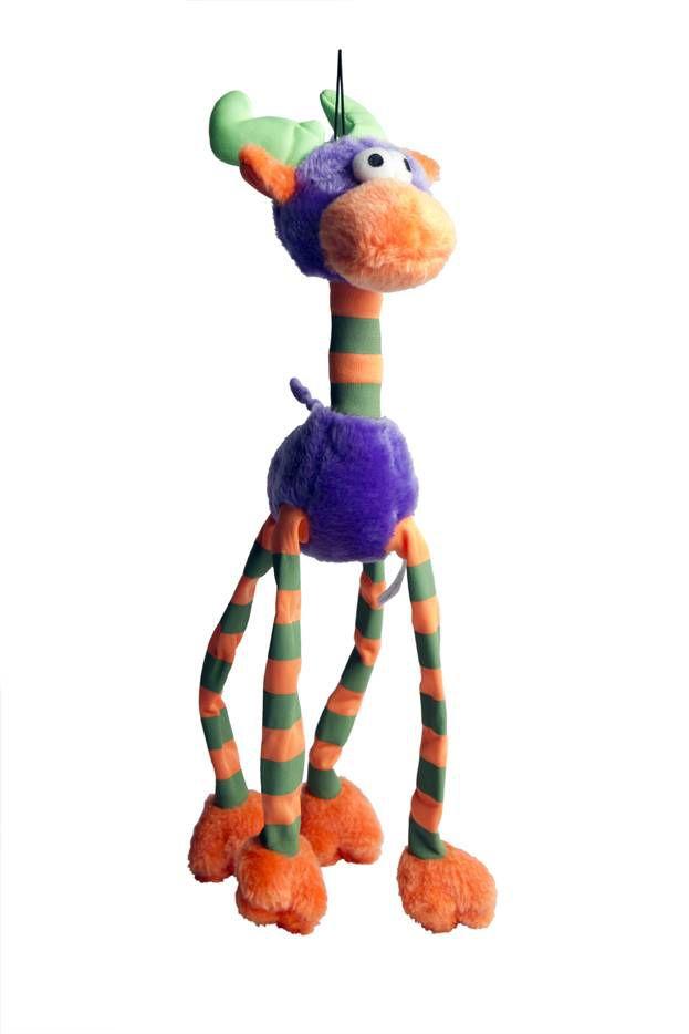 Brinquedo Cães Mordedor Pelúcia Alce Sonoro