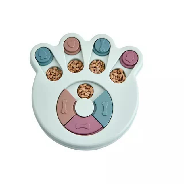 Brinquedo interativo enriquecimento ambiental cachorro porta petisco interativo