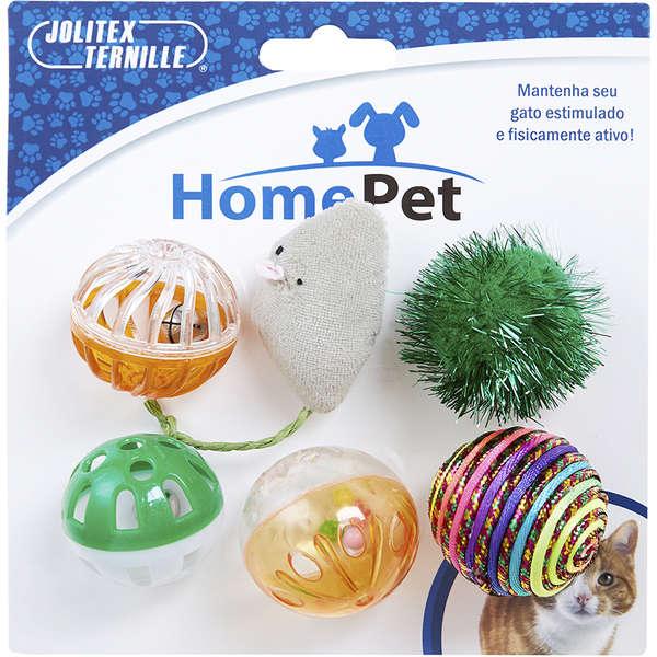 Brinquedo Interativo Para Gatos Kit Com Brinquedos Sortidos
