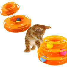 Brinquedo Para Gatos Torre De Bolinhas Tower Of Tracks