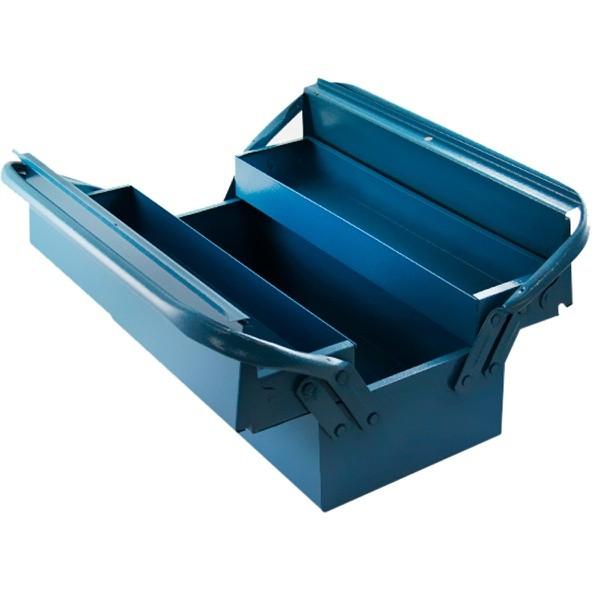 caixa ferramenta sanfonada estojo ferro ferramentas