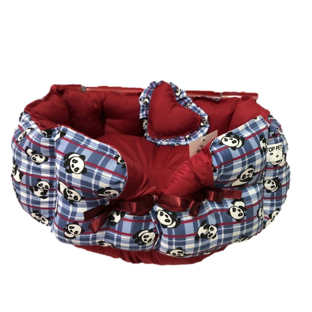 cama grecia luxo para cão grande