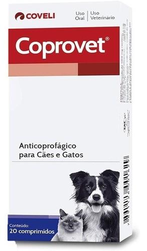 Coprovet 20 Comprimidos | Anticoprofágico Para Cães E Gatos kit 4 caixas