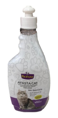 Educador Repelente Para Gatos Afasta Cat 500ml Pró Feline