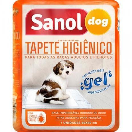 Educador Sanitário Canino Stop Dog + Tapete Higiênico para Cães Sanol 7 unidades
