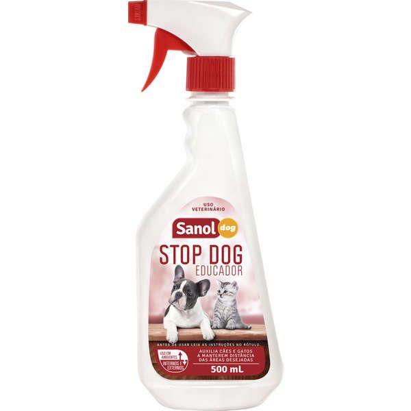 Educador Sanitário Sanol Dog Stop Dog
