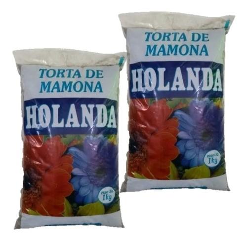 Fertilizante Torta De Mamona  adubação 2 pacotes com 1 kg cada