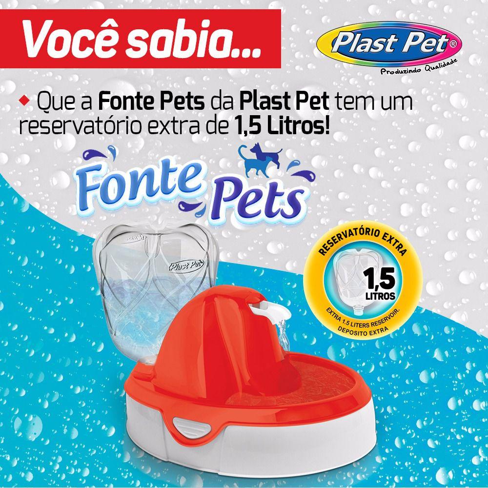 Fonte Bebedouro E Purificador De Água Para Gatos E Cães 110v