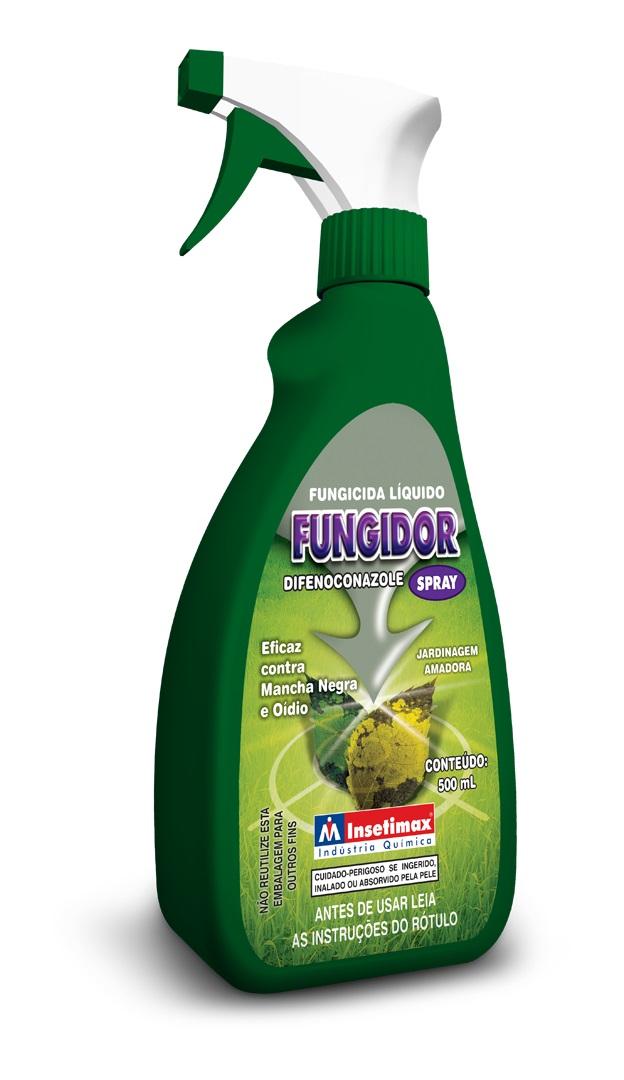 Fungicida Fungidor Spray Pronto Uso Insetimax 500 ml fungos de plantas