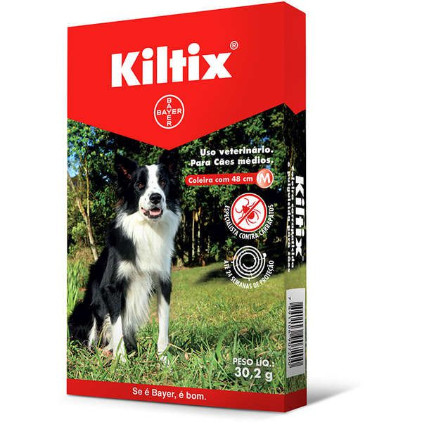 Kiltix Coleira Antipulga E Carrapaticida M - Bayer
