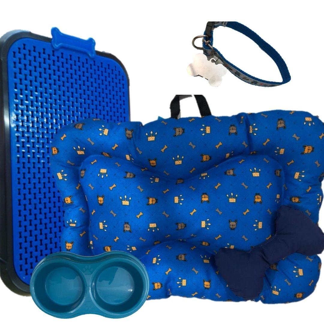 kit de colchonete mais sanitário mais acessórios