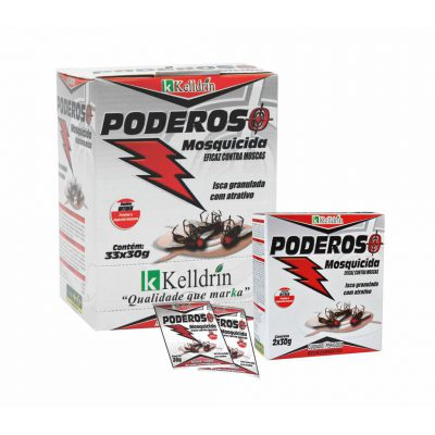 MOSQUICIDA PODEROSO KIT COM 6  PACOTES DE 30 GRAMAS CADA