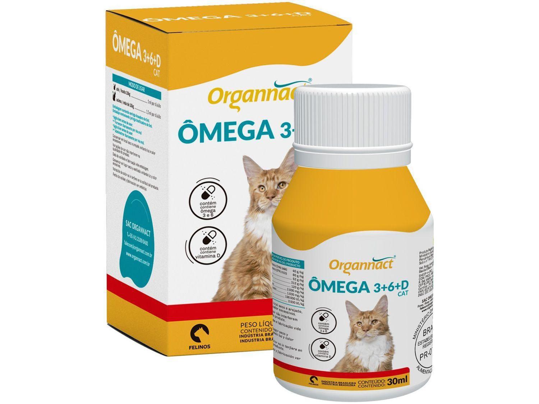 Ômega 3+6+d Cat 30ml - Organnact