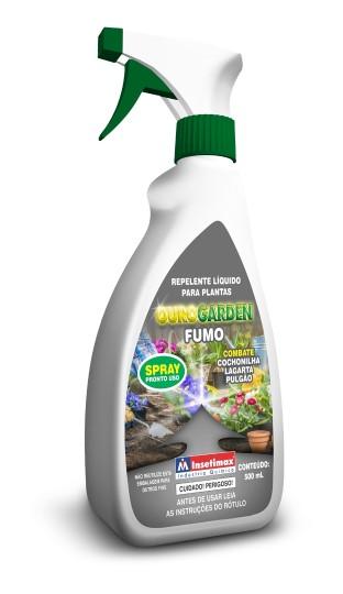 ouro garden Calda De Fumo Líquido Para Controle De Pragas e fungicida liquido fungidor 500 ml