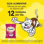 Petiscos Para Gatos Sabor Carne Dreamies combo com 5 unidades