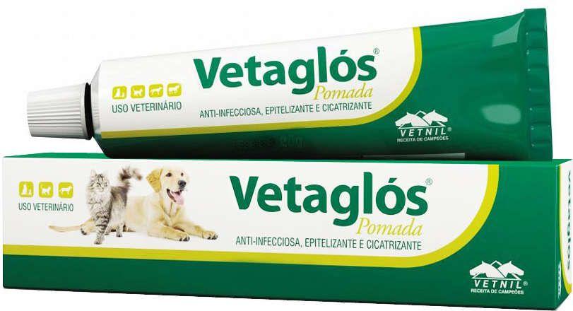 Pomada Cicatrizante Vetaglós 20g - Vetnil