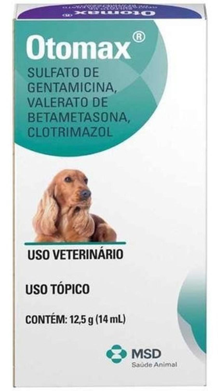 Pomada Otológica Otomax Tratamento De Otite Em Cães