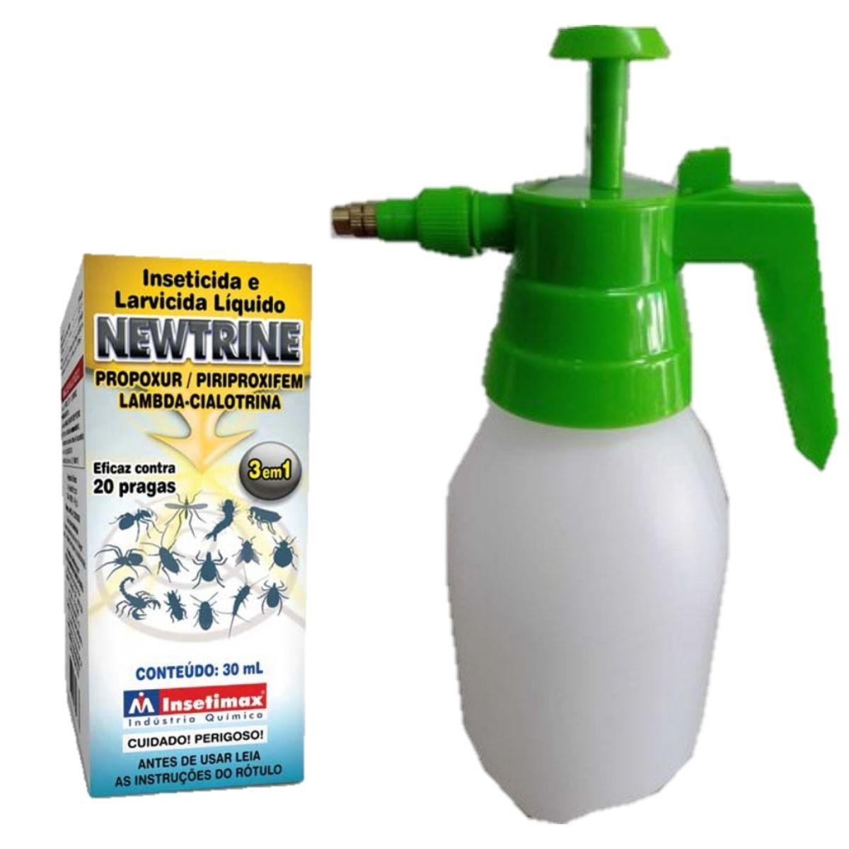 Pulverizador mais newtrine carrapaticida, mosquicida, elimina pulgas e carrapatos do ambiente