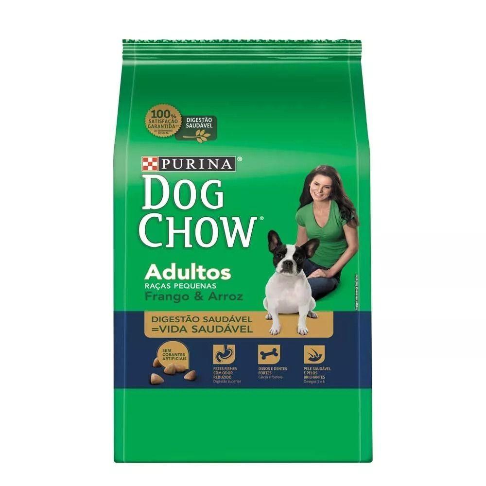 Ração Dog Chow Adulto Raças Pequenas Frango E Arroz 15kg