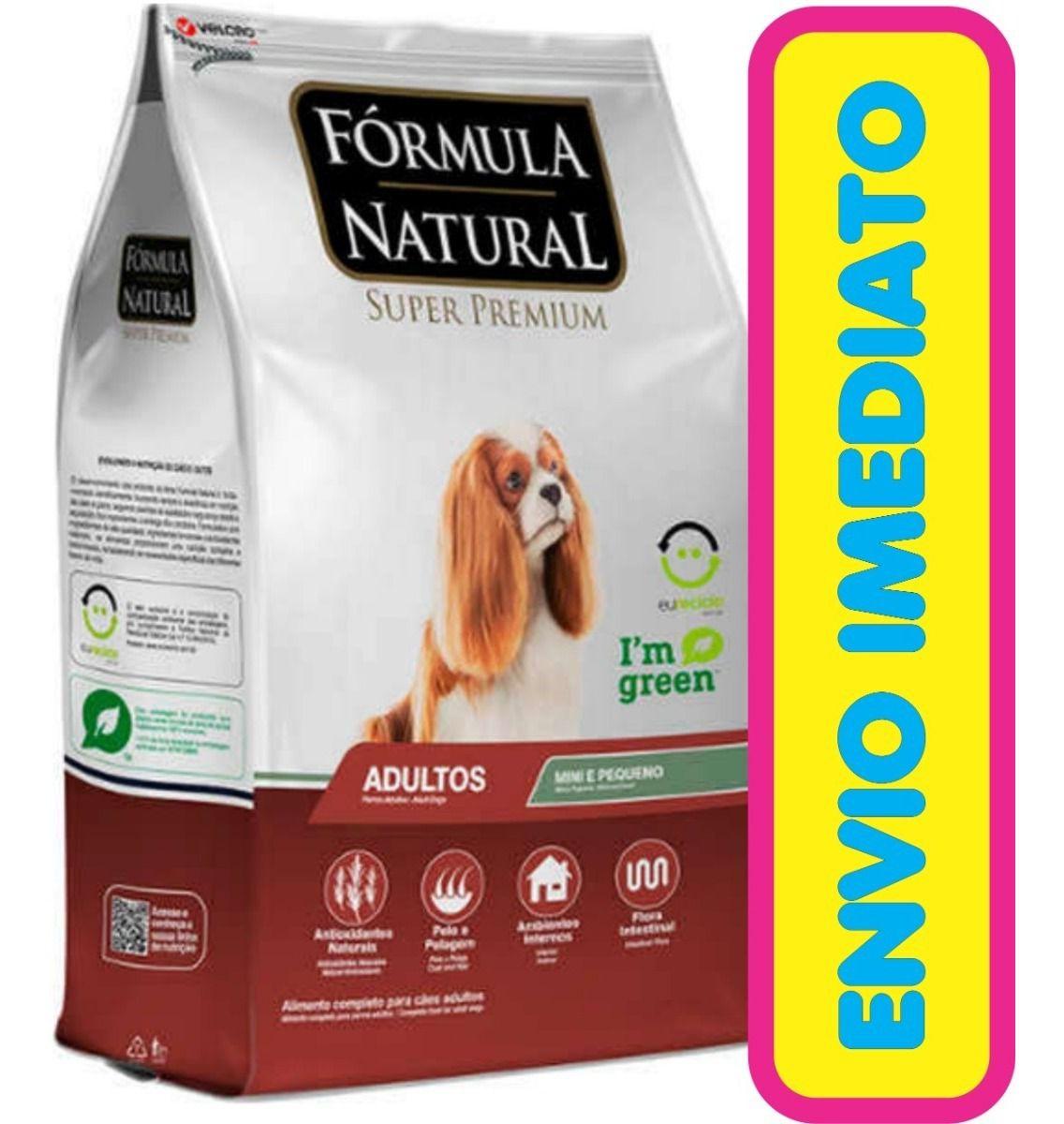 Ração Fórmula Natural Cães Adultos De Porte Pequeno 7 Kg