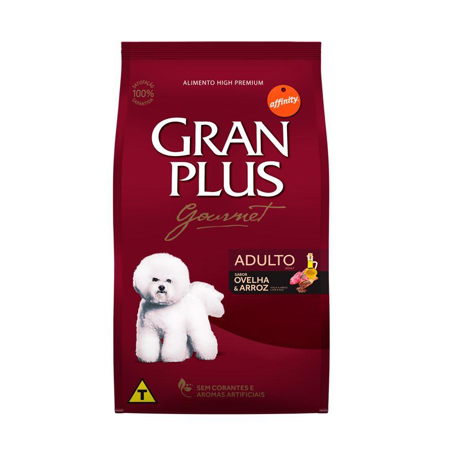 Ração Gran Plus Gourmet Cães Adultos pequeno porte Ovelha - 3kg