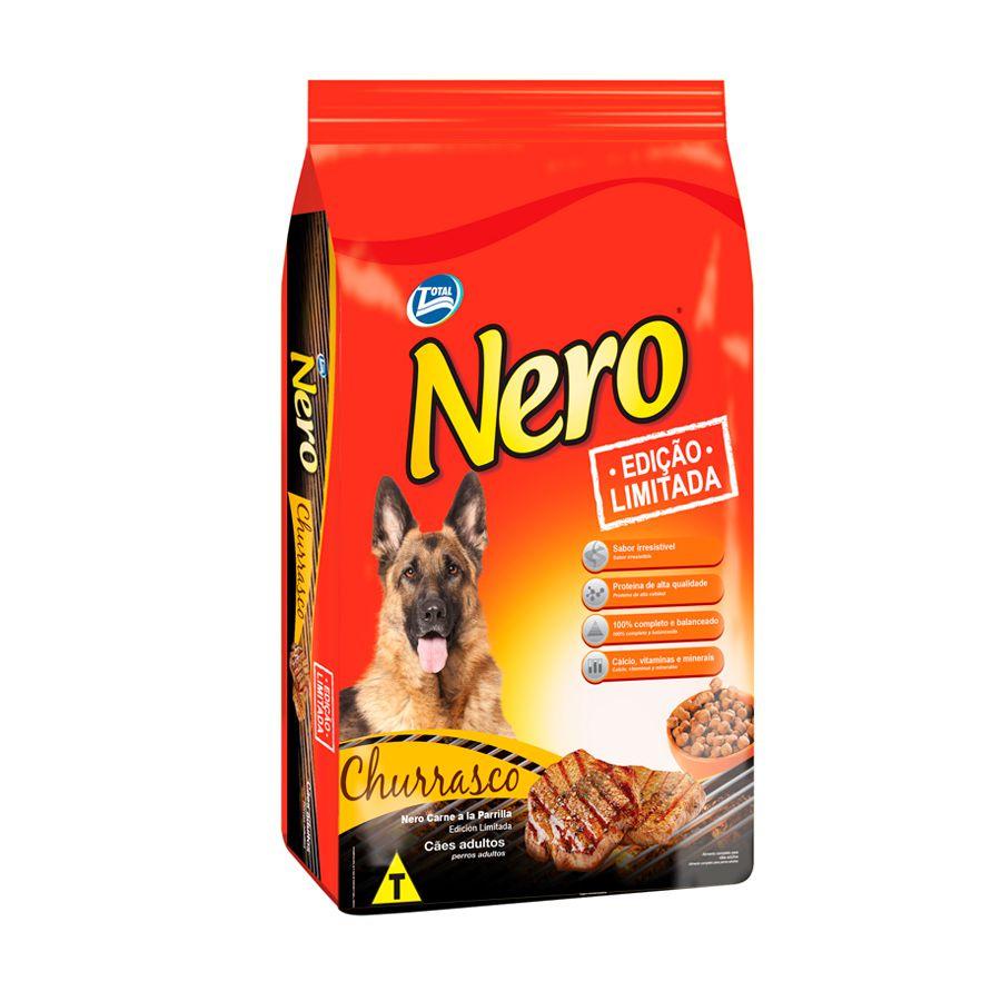 Ração Nero para Cães Adultos sabor Churrasco 15kg