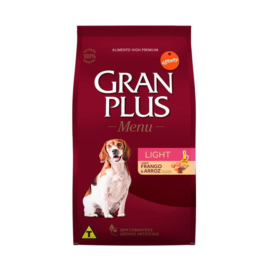 Ração Para Cães Adultos Gran Plus Light 15kg