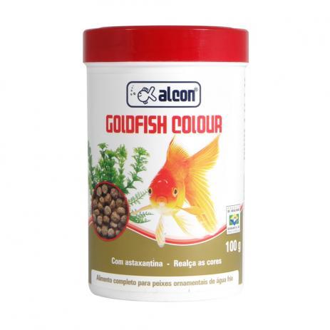 Ração Para Peixe Alcon Gold Fish Colours 100gr
