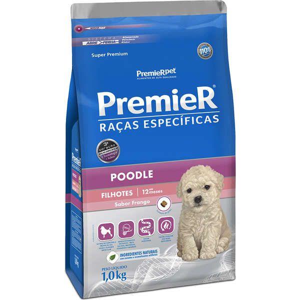 Ração Premier Pet Raças Específicas Poodle Filhote - 1 Kg