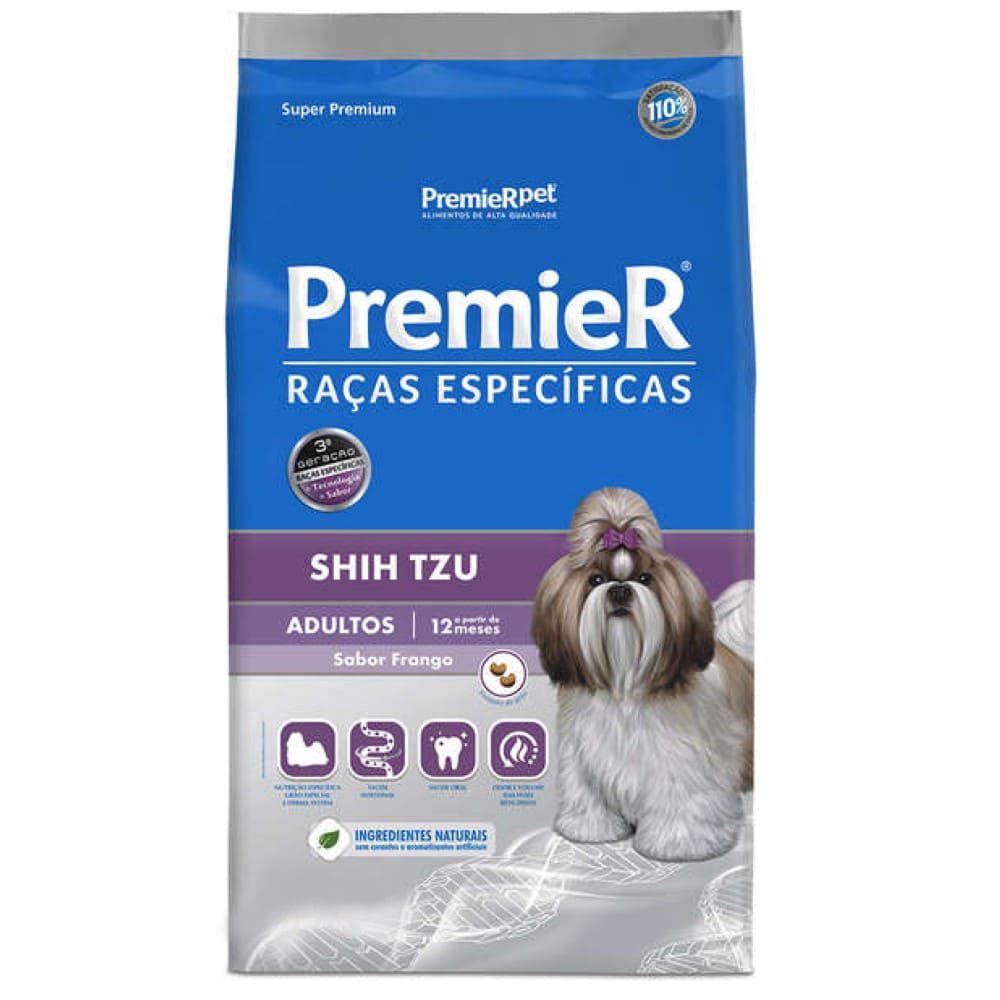 Ração Premier Shih Tzu Raças Espec Para Cães Adultos 1kg