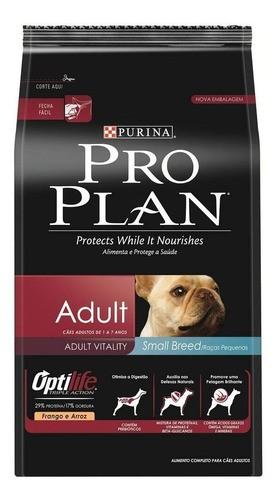 Ração Proplan Dog Adulto pequeno porte  2kg