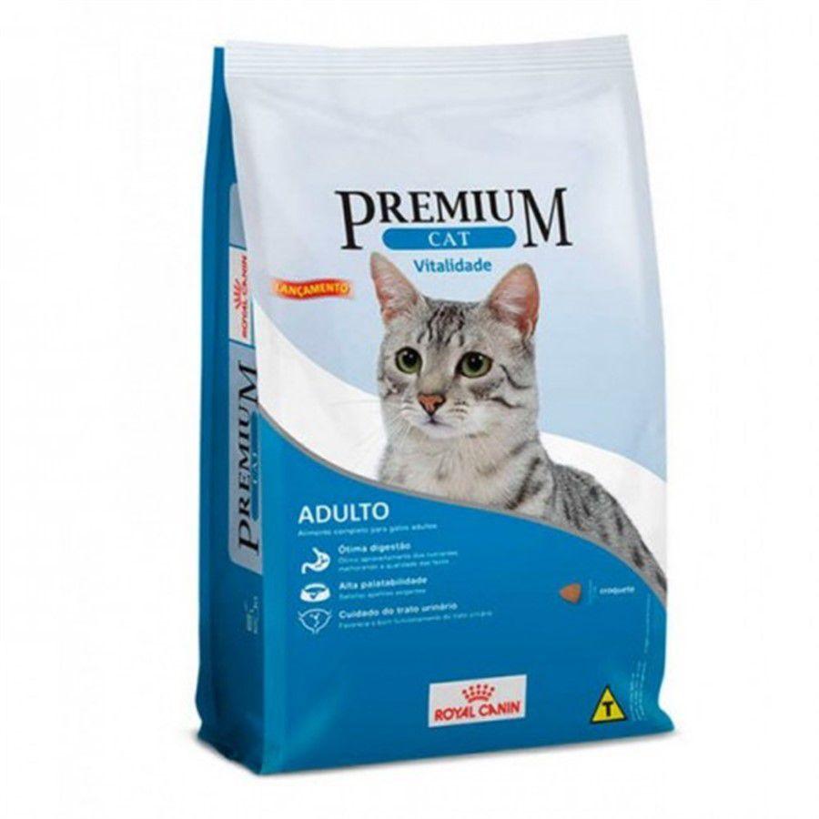 Ração Royal Canin Premium Cat Vitalidade 10,1 Kg