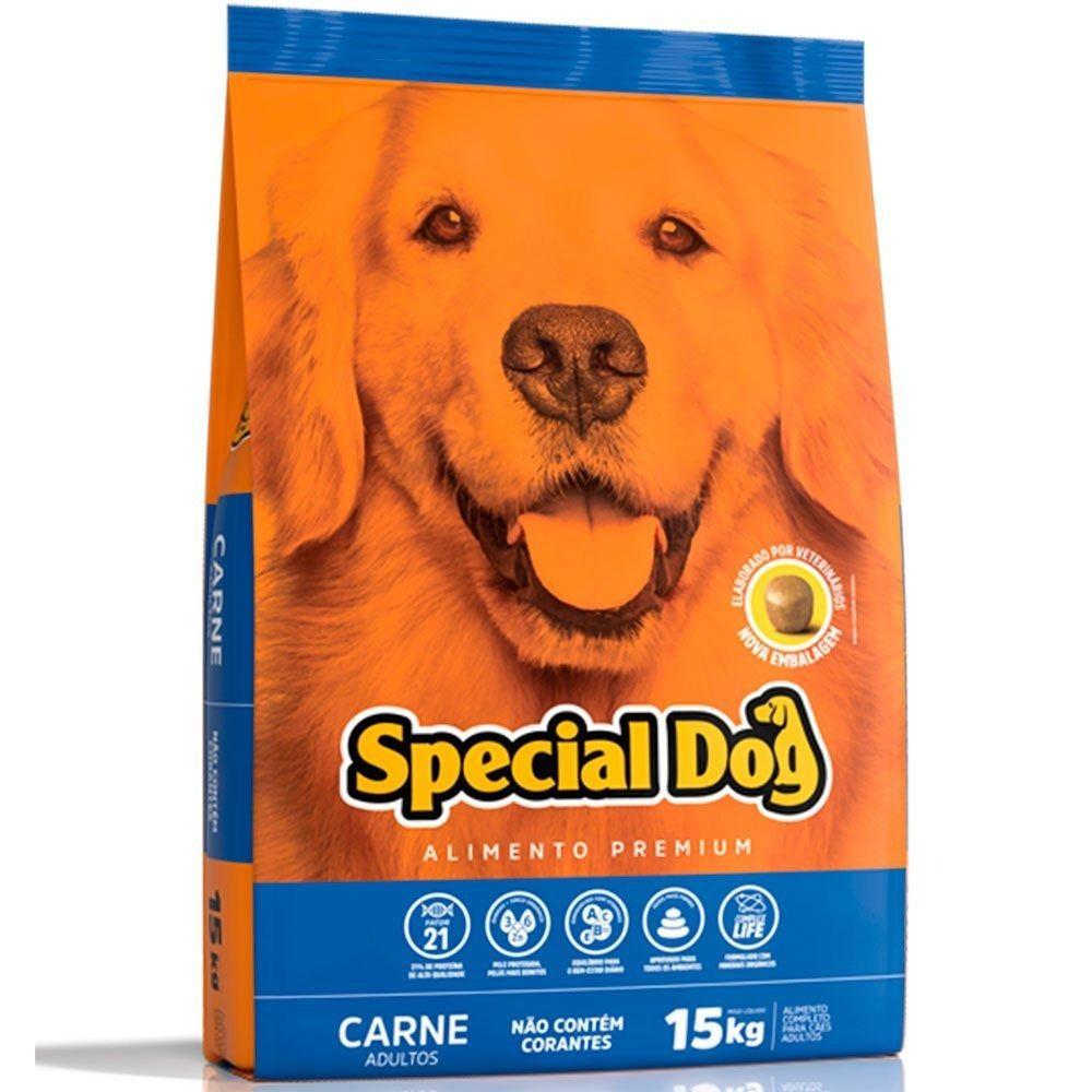Ração special Dog carne de 15 kgs