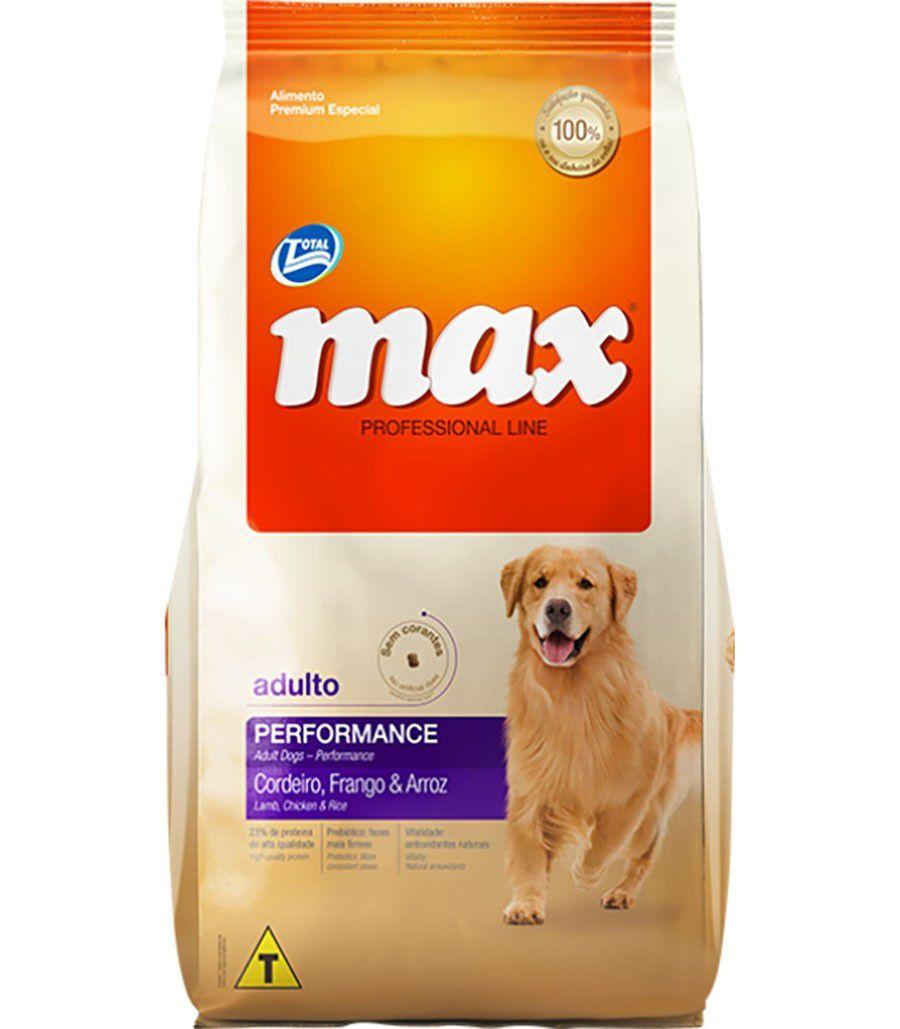Ração Total Max Cordeiro Frango e Arroz para Cães Adultos 15 kgs